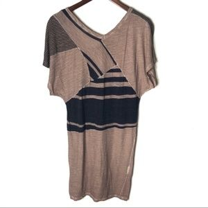 4/$25 See By Chloe Printed Shirt Dress - Flawed